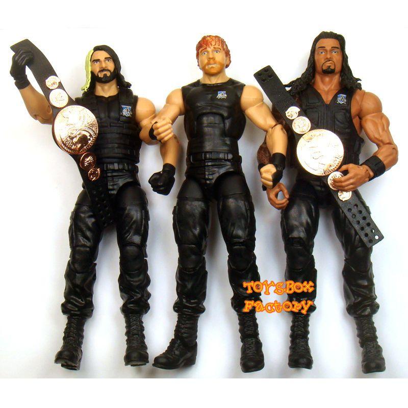 WWE ELITE Roman Reigns Série Mattel Wrestling Action Figure Shield WWF
