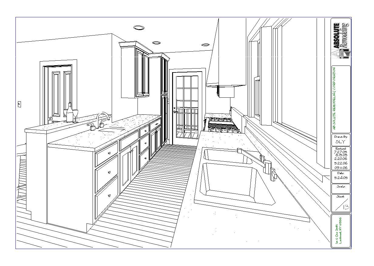 Kitchen plan and layout - Kitchen Remodeling Floor Plans Larchmont Plan Layout With Island Brilliant