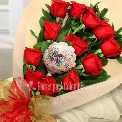 Ramos De Rosas De Amor Para Regalar Flores Ramo De