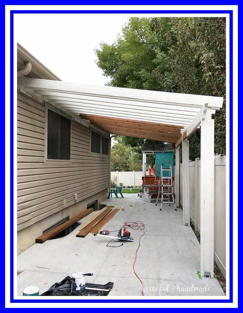 78 Reference Of Patio Cover Attached To Eaves In 2020 Building A Patio Pergola Patio Outdoor Pergola