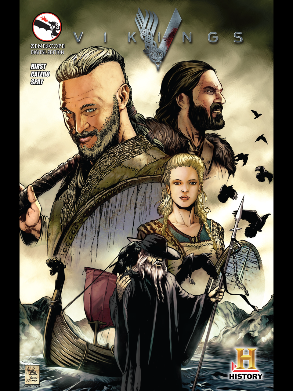 Vikings #1 by Michael Hirst (Creator & Writer),     | Books