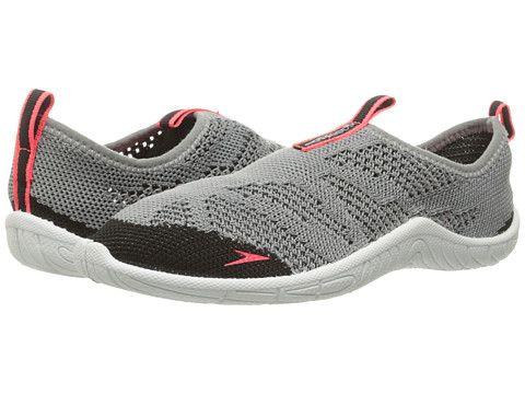 Speedo Surf Knit Grey Neon Pink OAXPZX