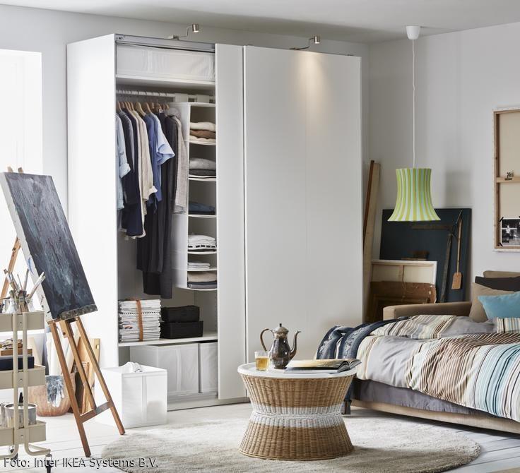 Kleiderschrank So Integrierst Das Stauraumwunder Ikea Pax