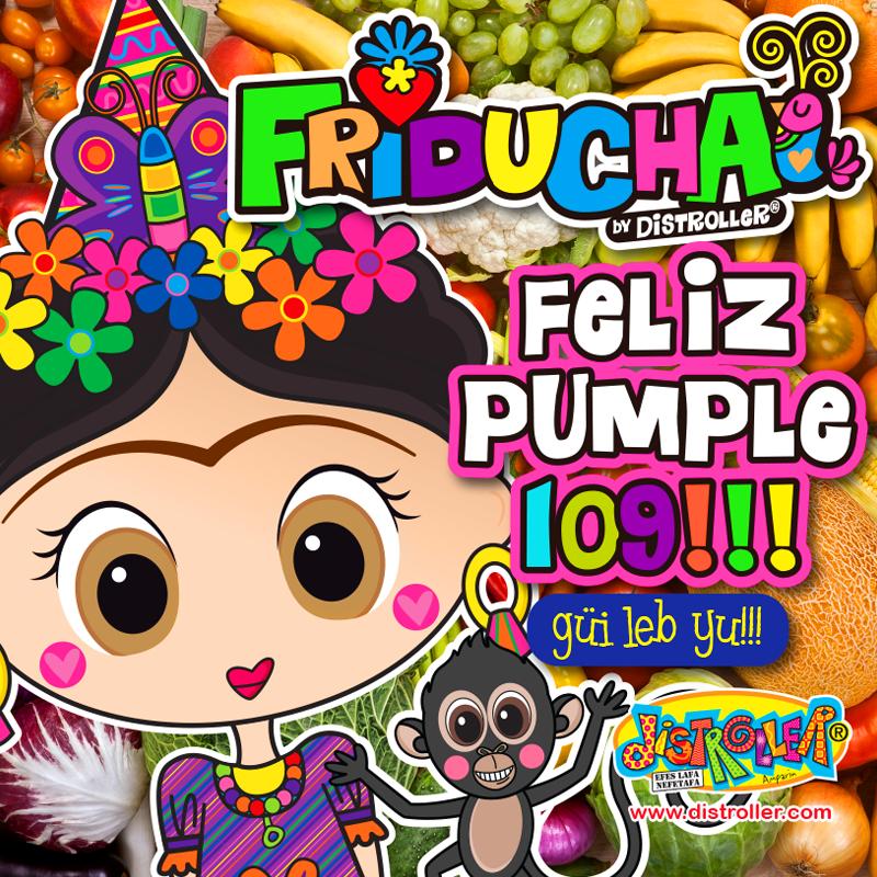 Celebrantes Del Que Fuera Cumple #109 De Frida Kahlo