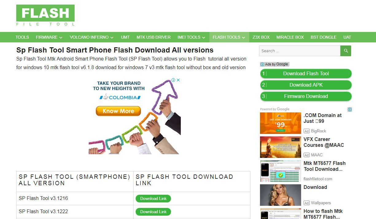 Download All Latest and Old Version of #smartphone #Flash