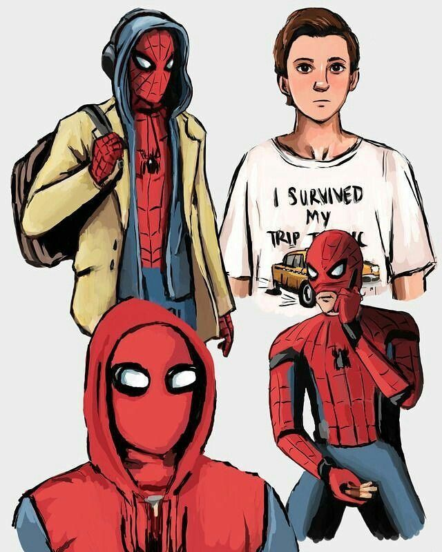 These Are Great Artist Unfortunately Unknown Marvel Marvel Superheroes Tom Holland Spiderman