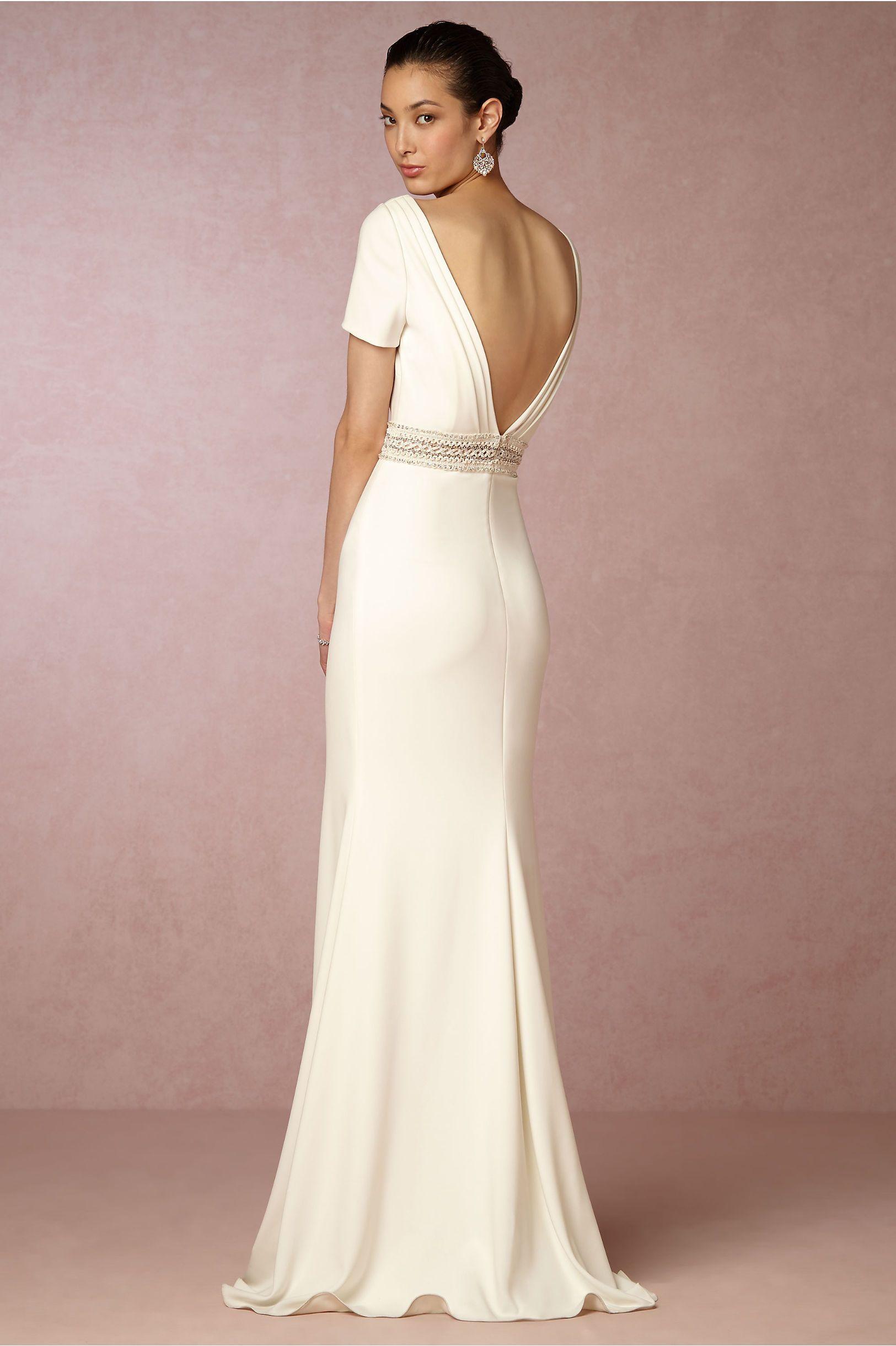 BHLDN Alice Gown in Bride Wedding Dresses | BHLDN | Bhldn ...