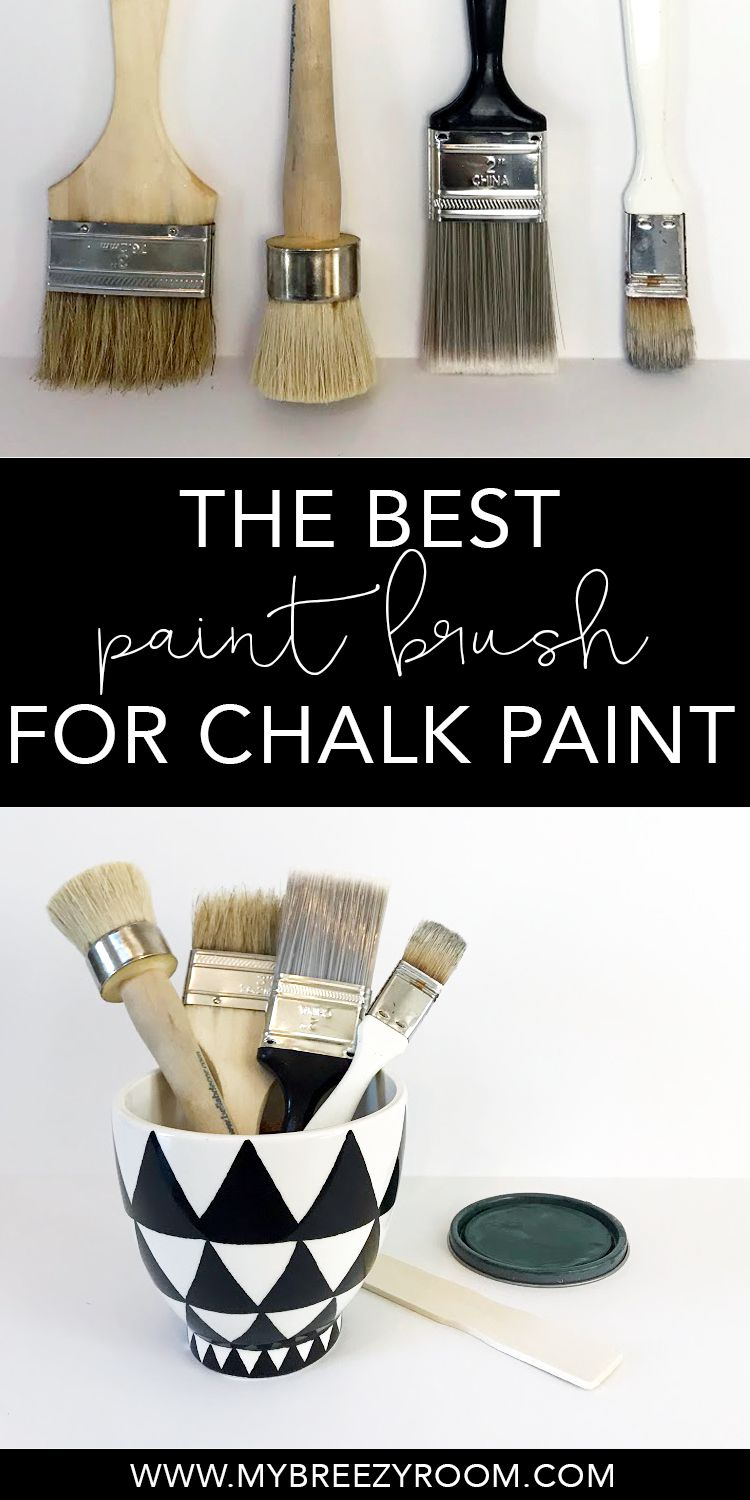 Best Paint Brush For Chalk A Chip My Breezy Room Chalkpaint Paintedfurniture Paintingfurniture Howtopaintfurniture Paintbrush