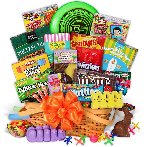 Kids easter gift basket easter gift baskets kids easter gift basket negle Gallery