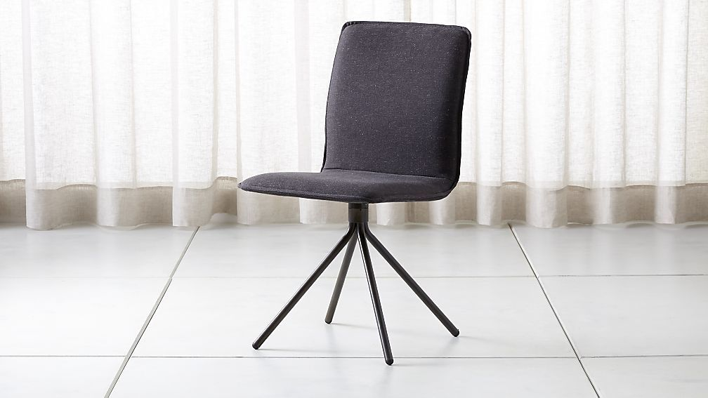 Stupendous Whirl Grey Swivel Dining Chair Swivel Dining Chairs Grey Ncnpc Chair Design For Home Ncnpcorg