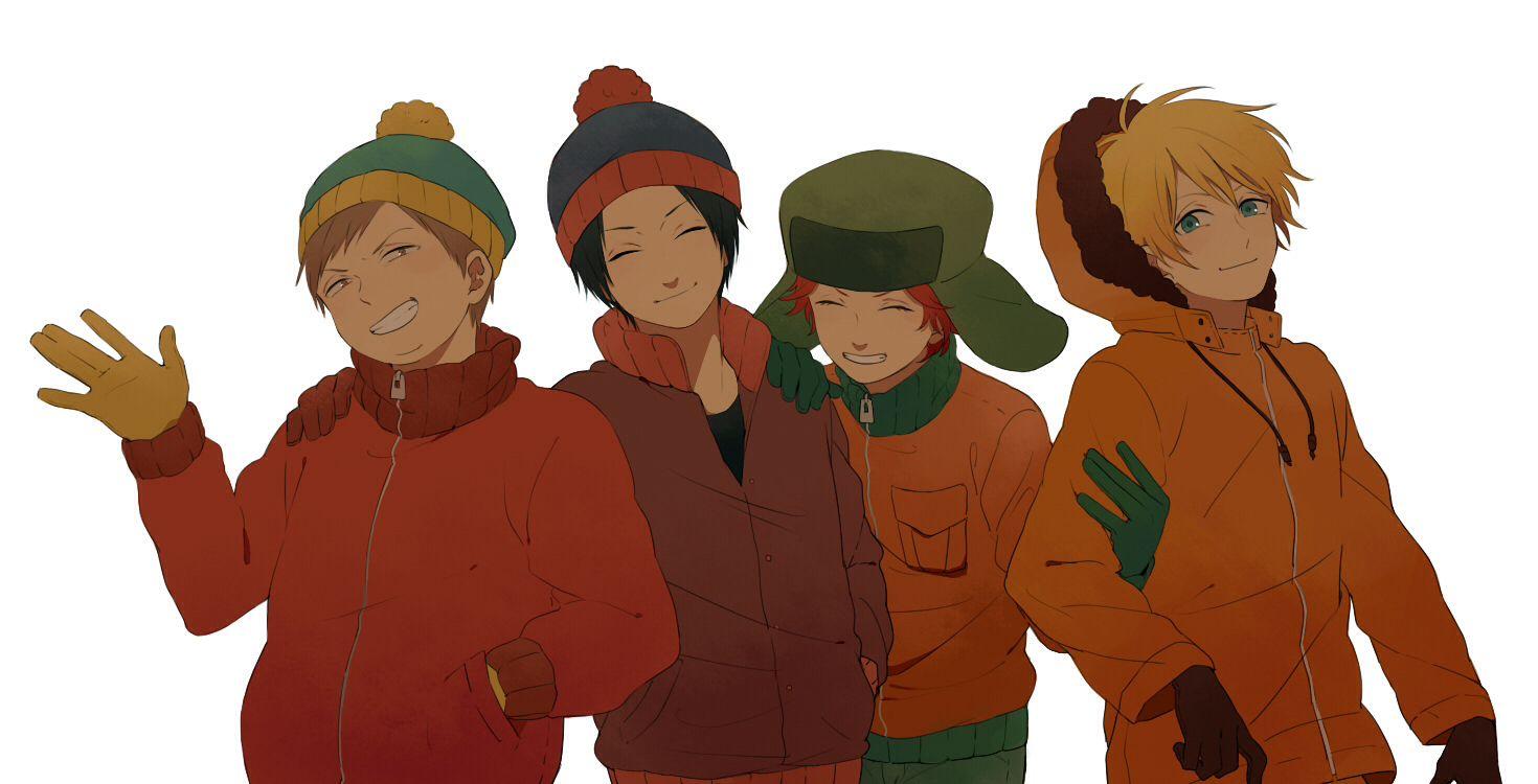 Cartman, Stan, Kyle, & Kenny