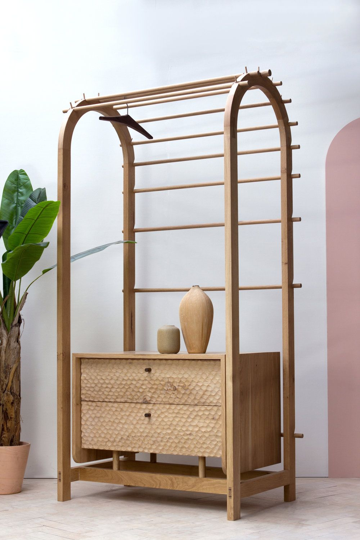 On my radar: London Design Festival 2019 round-up - KONK! Furniture - wooden cabinet - wooden storage