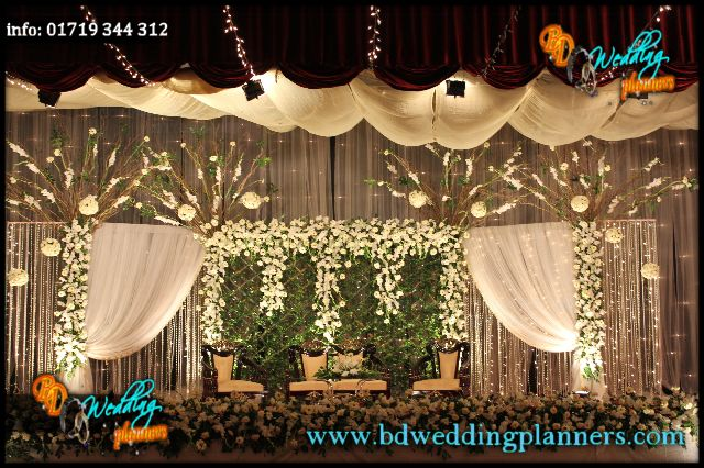 Wedding Reception Stage Decor Bd Bhuvan Wedding Reception