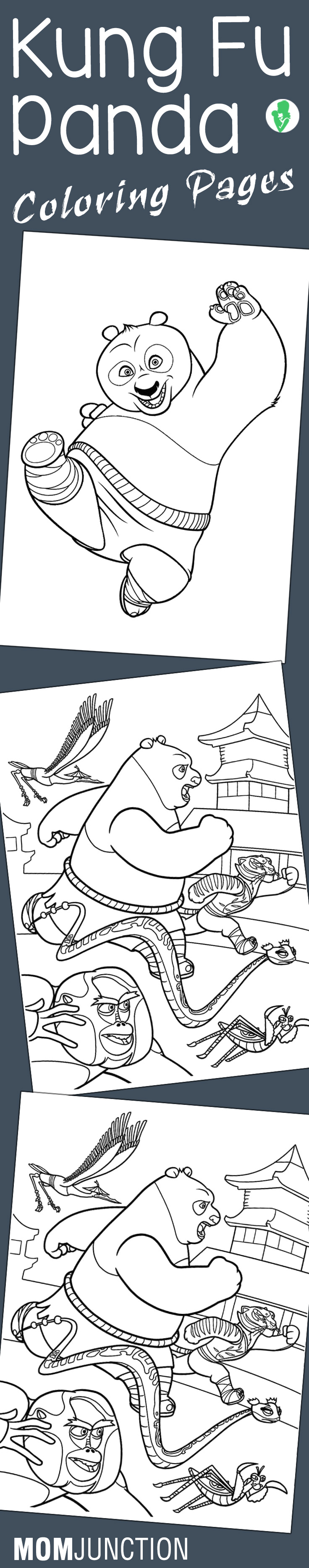 Printable karate coloring pages - Top 10 Free Printable Kung Fu Panda Coloring Pages Online