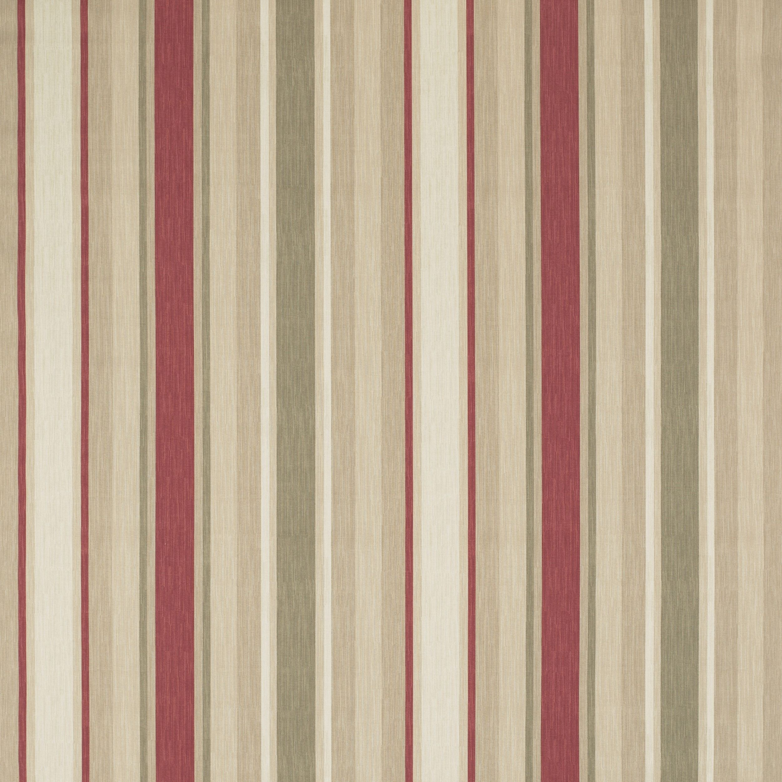 Striped Wallpaper Living Room, Curtains
