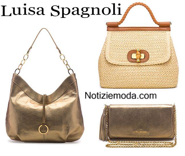 Accessori Luisa Spagnoli borse primavera estate donna