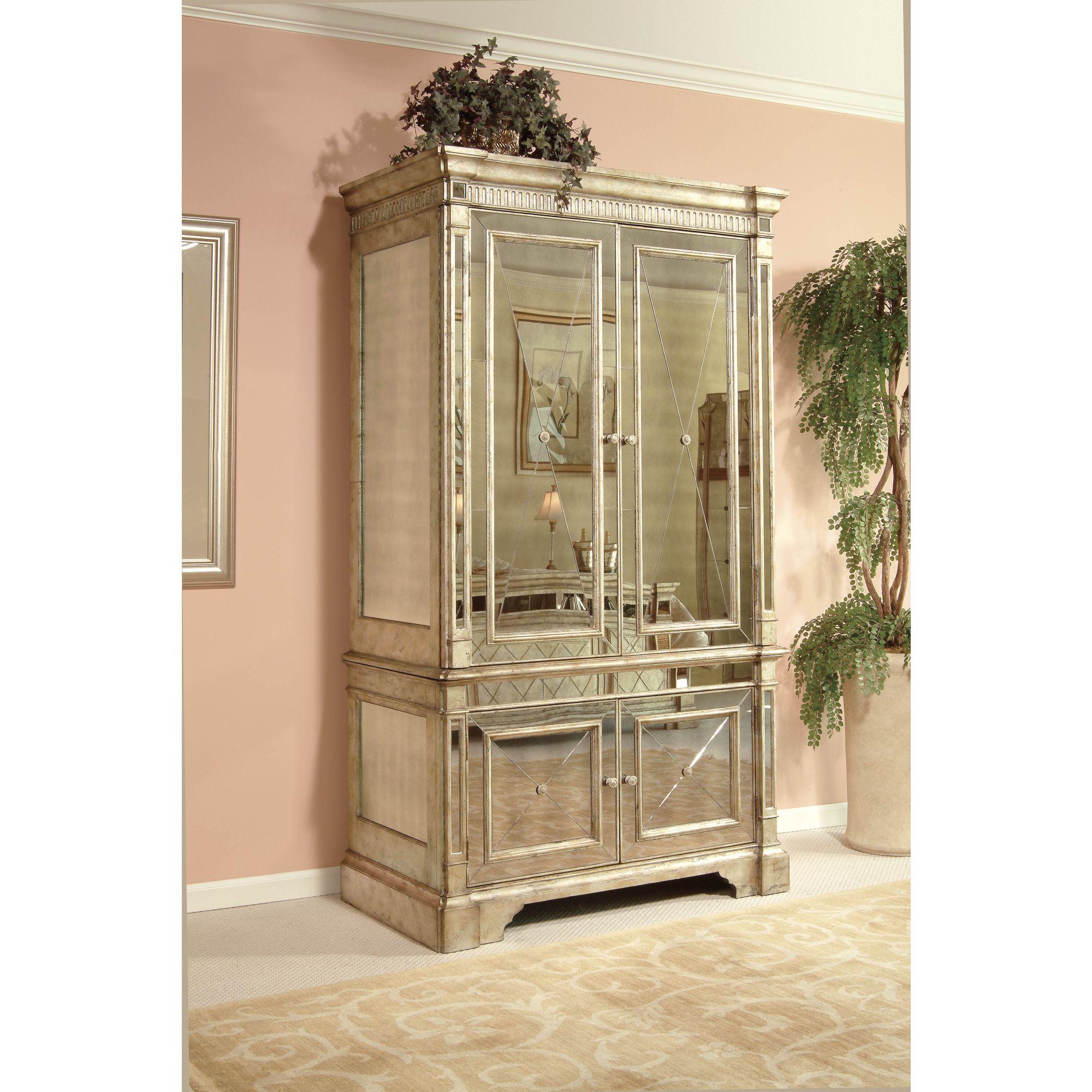 borghese furniture mirrored. bassett mirror borghese armoire furniture mirrored v