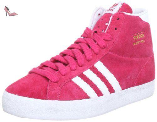 new styles 0c4e3 4bacd adidas Originals BASKET PROFI W, Chaussons montants femme, Rosa (Pink  (BLAZE PINK