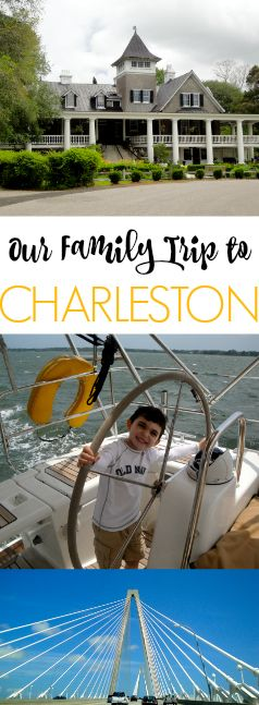Our family trip to Charleston! Downtown, beach time, sailing, Magnolia Plantation, children's museum and TONS of great food!