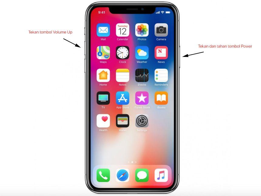 Cara screenshot di iphone ipad dan ipod touch ipod
