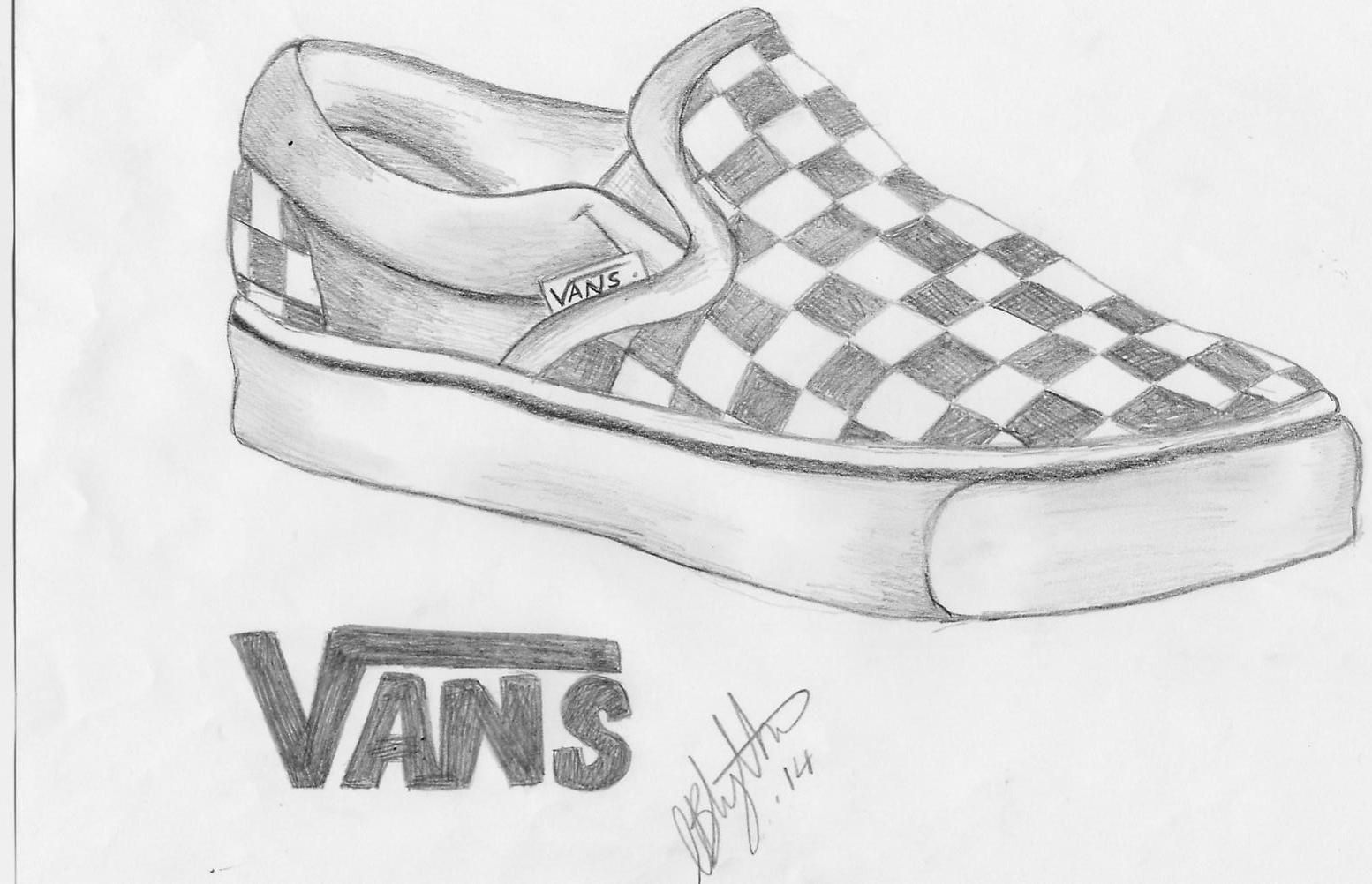This is an image of Remarkable vans coloring page