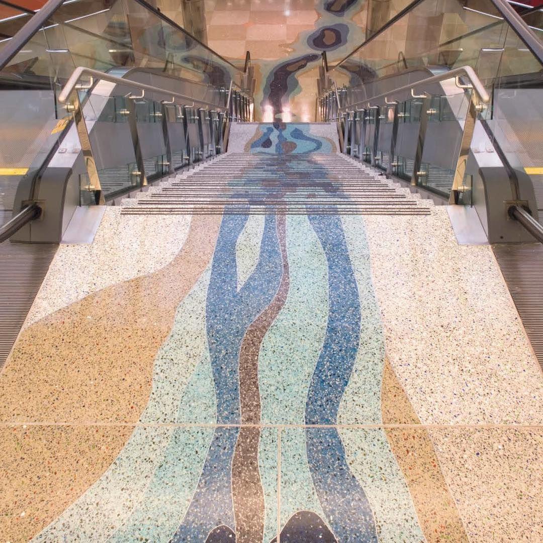 Kansas City International Airport Terrazzo Terrazzo