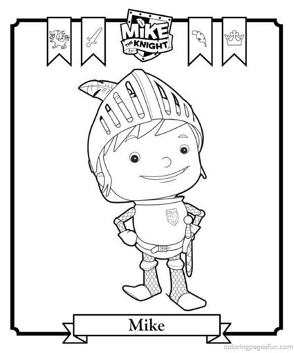 Printable Mike the Knight Coloring Pages // Páginas para colorear de ...