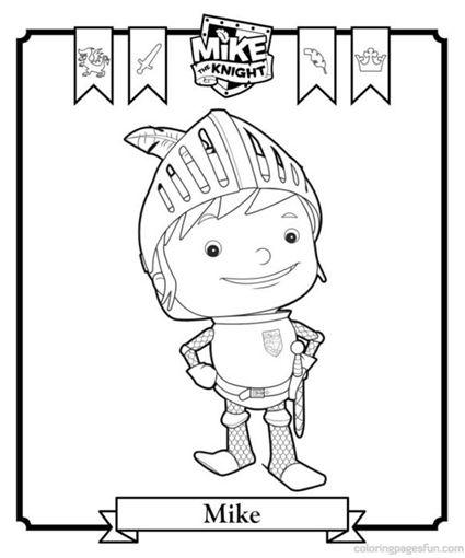 Printable Mike the Knight Coloring Pages // Páginas para colorear de ...