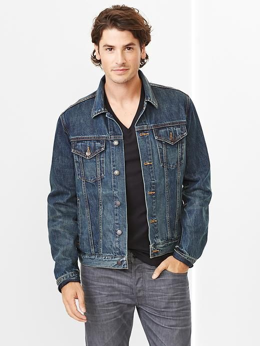 d1ee6138011 Gap 1969 Heritage Denim Jacket (Dark Tint Wash) on shopstyle.com ...