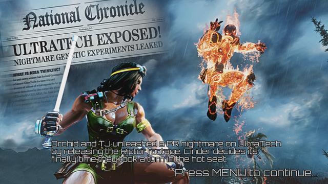 Cinder's Story Line