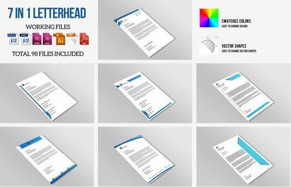 Letterhead Template Corporate Business Letterhead Printable