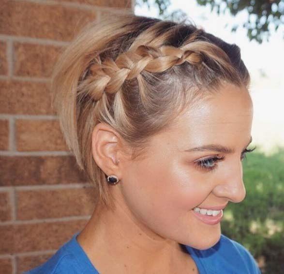 50 Façons Pour Tresser vos Cheveux Courts Coiffure