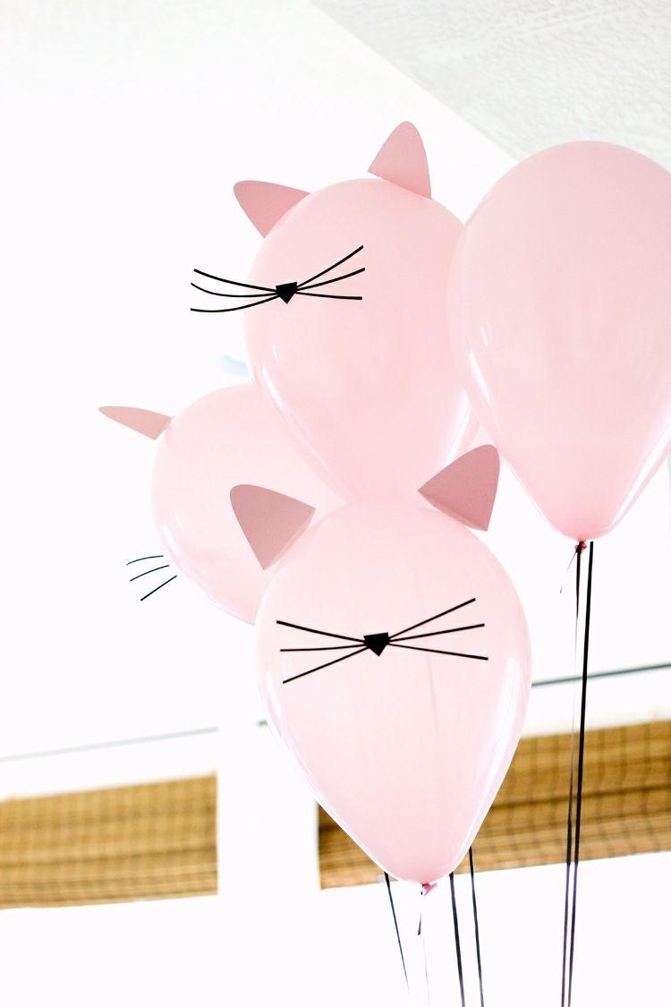 Geburtstag Mit Katze Als Thema Schone Diy Deko Ideen