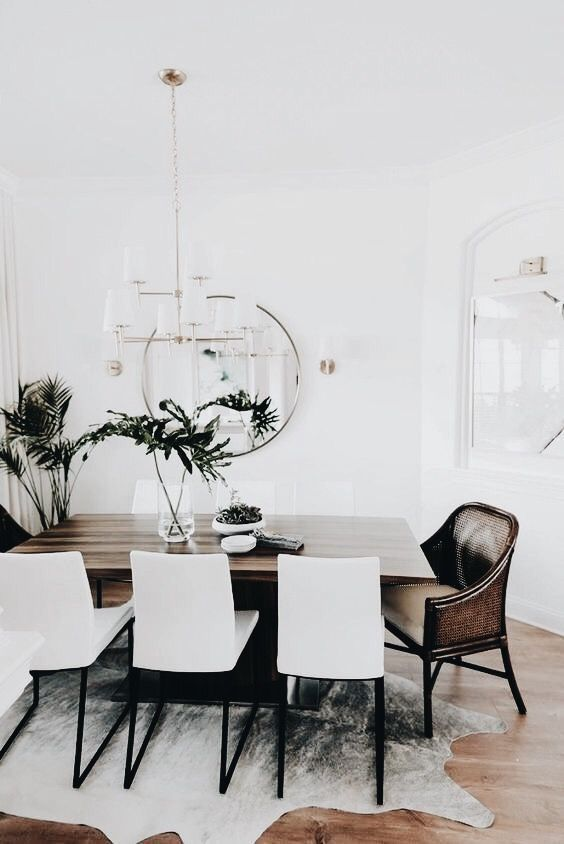 Une Magnifique Salle à Manger Style Bathroom Decor Salleamanger Decoration Interiordesign Interior Home In 2018 Dining Room