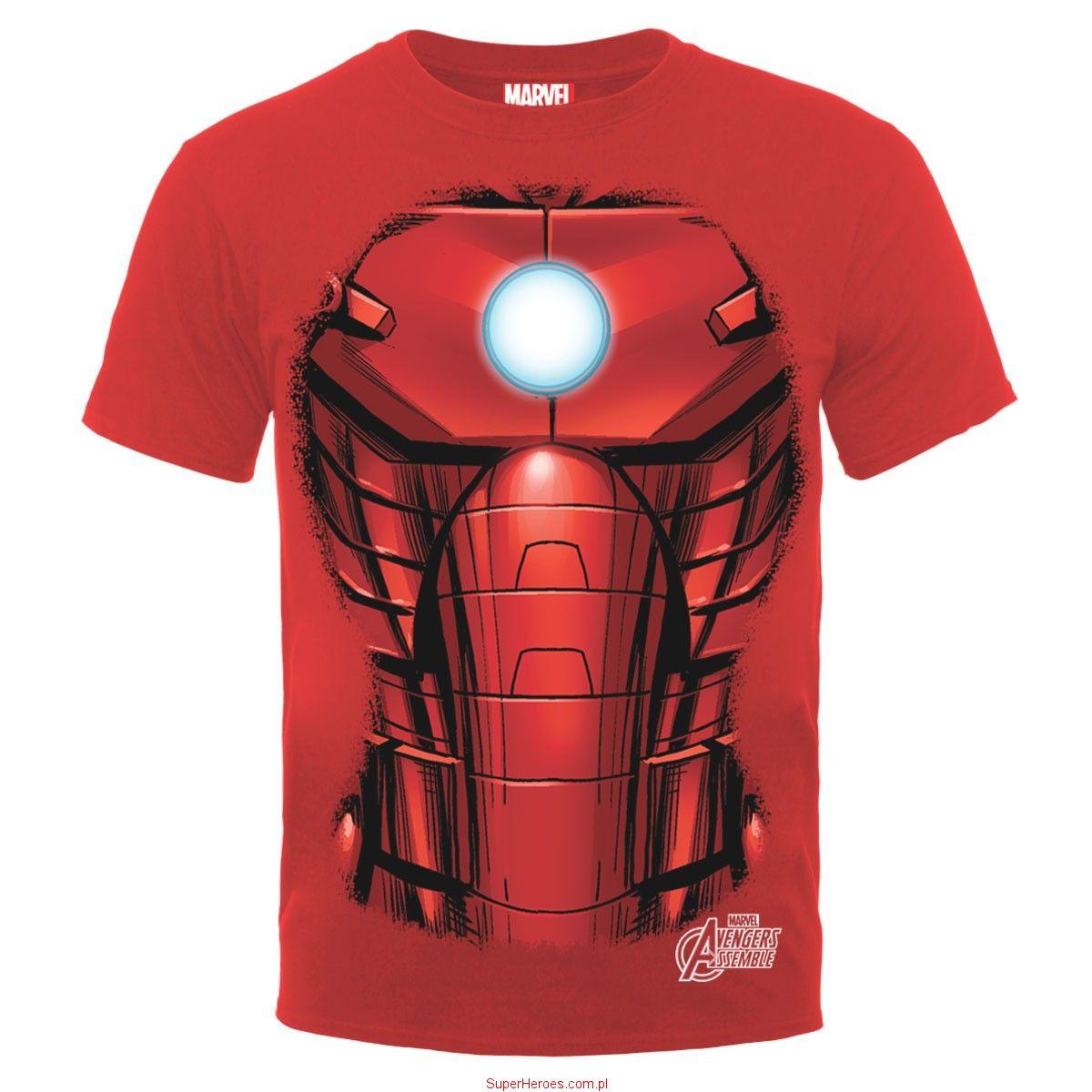 a180eef63c0351 Koszulka Iron Man - zbroja | Marvel | Iron man, Superman ...
