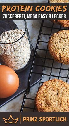 Protein Cookies: 4 healthy and protein-rich recipe variants -