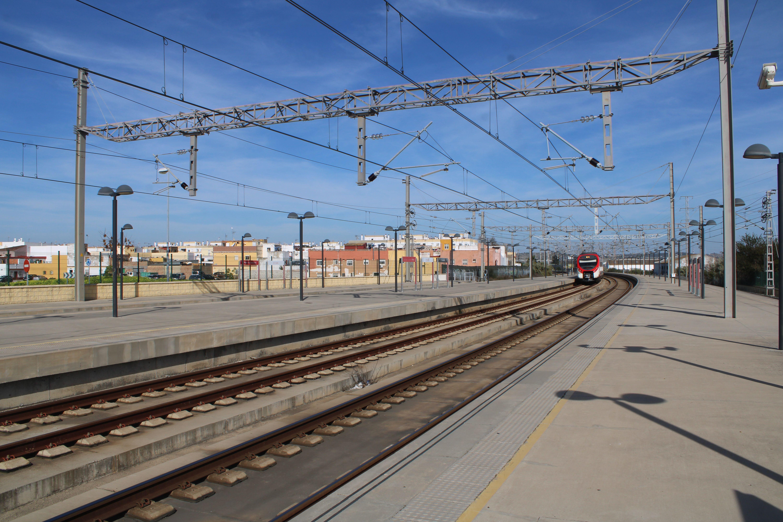 estación de ferrocarril de El Puerto de Santa María