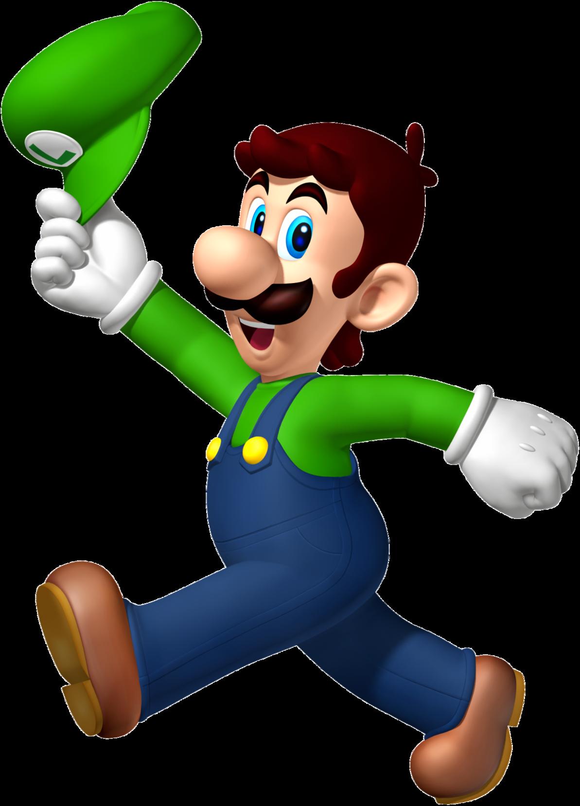 R sultat de recherche d 39 images pour luigi without cap - Luigi mario party ...