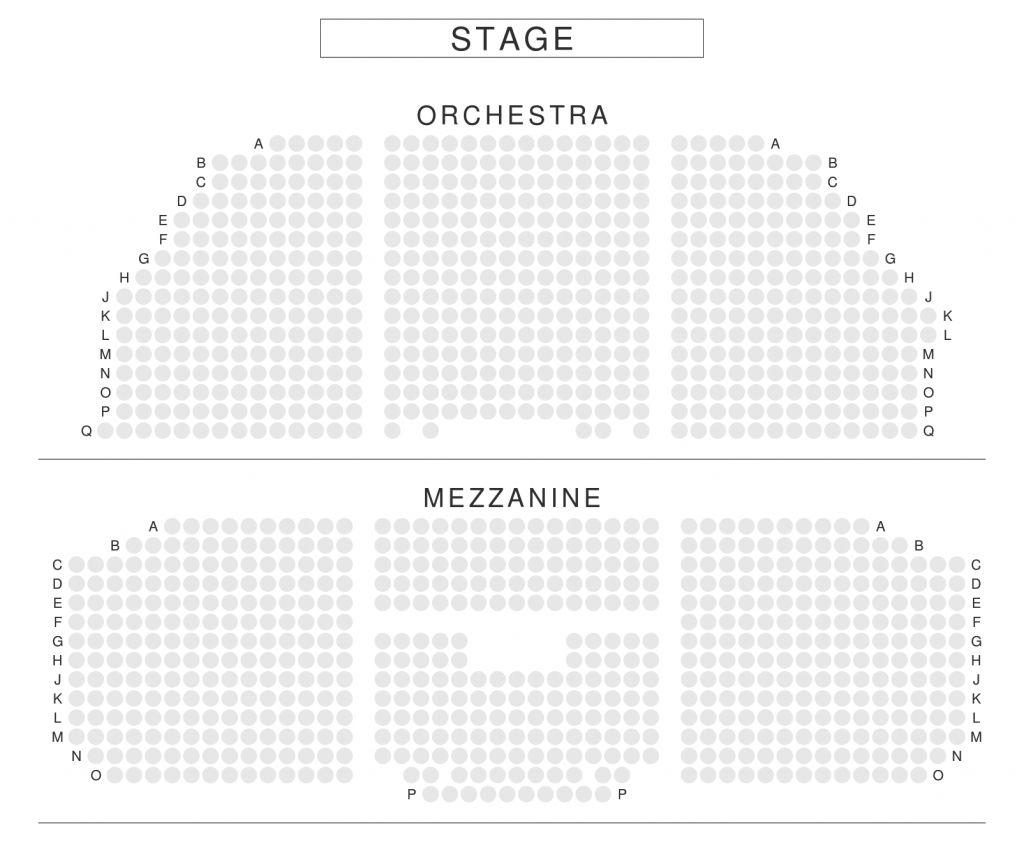The Amazing Harold Pinter Seating Plan In 2020 Music Box Theater Seating Charts Seating Plan