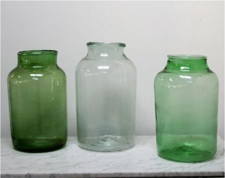 Large Glass Pickle Jars