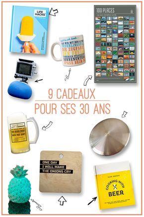 Idee Cadeau 30 Ans.Cadeau Homme 30 Ans 9 Cadeaux Pour Marquer Le Coup