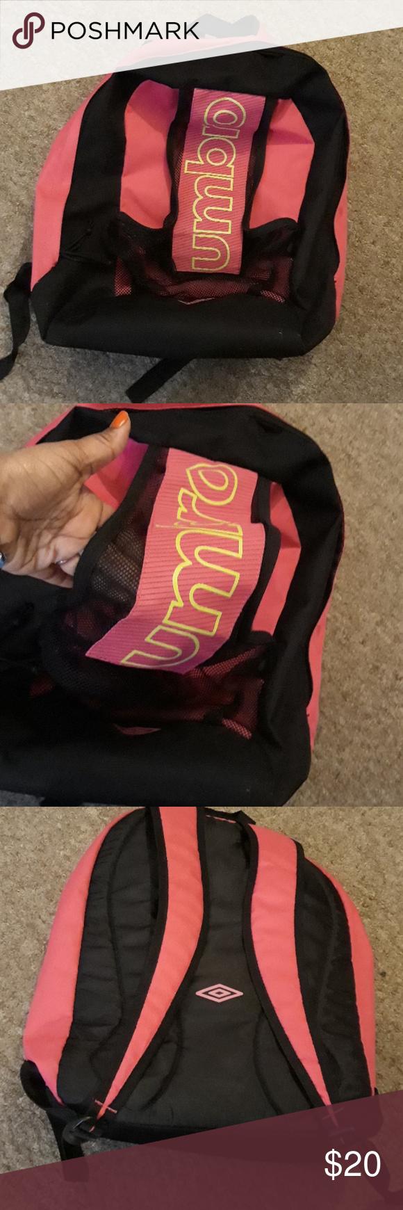 Umbro soccer bag Umbro soccer bag name written in marker as seen in pic  Umbro Accessories c66997e443