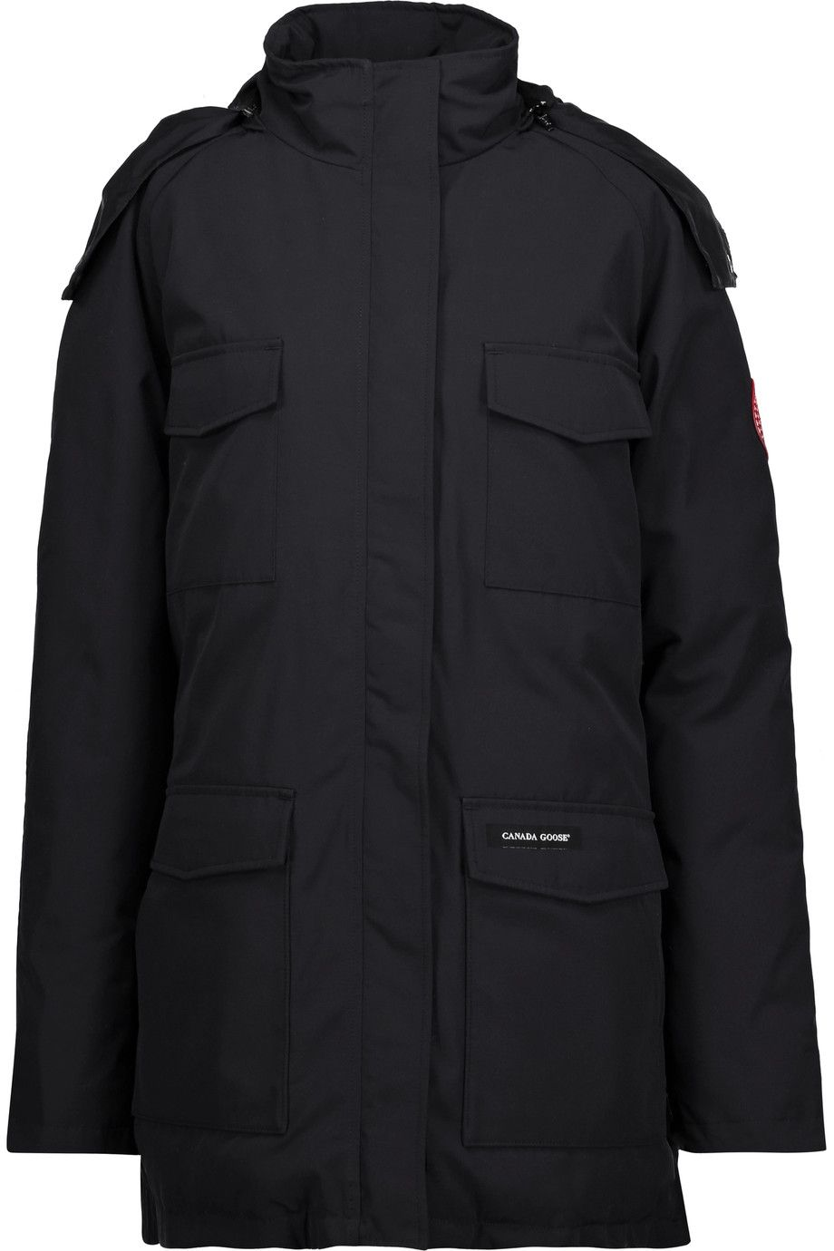 CANADA GOOSE Constable shell down hooded parka. #canadagoose #cloth #parka