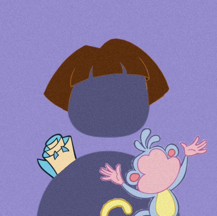 Dora Twitter Icon Creative Profile Picture Cartoon Profile Pics Cute Profile Pictures Cool cartoon photo wallpaper for profile