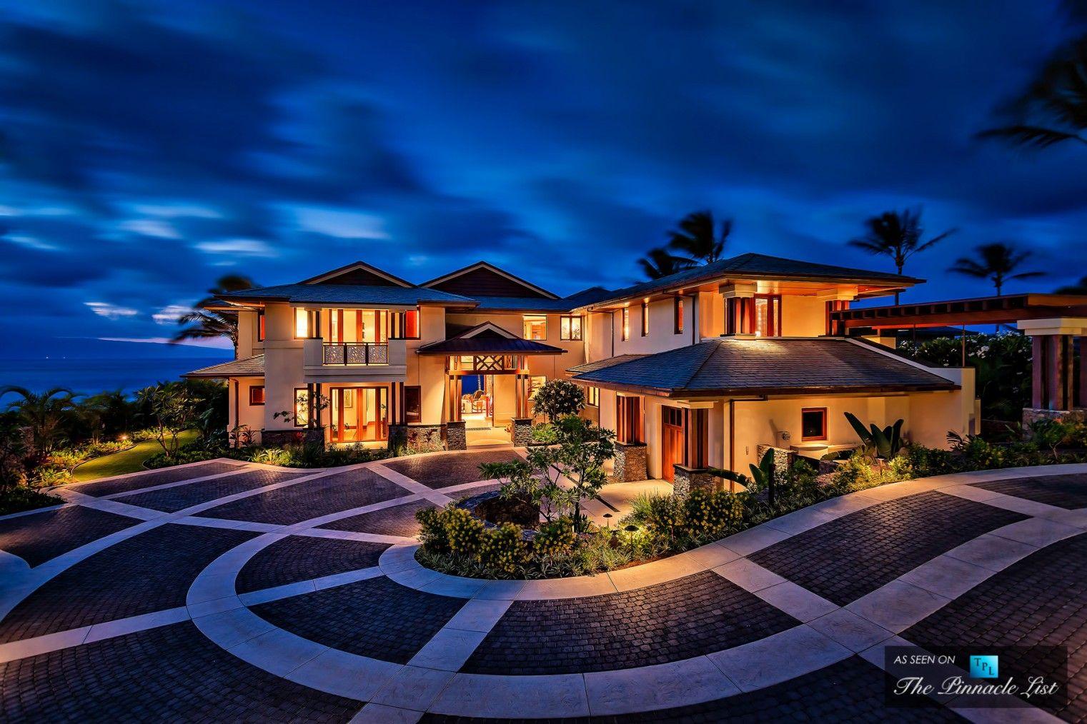 Beautiful Homes In Hawaii 3 kapalua place, kapalua, lahaina, maui, hawaii   home design