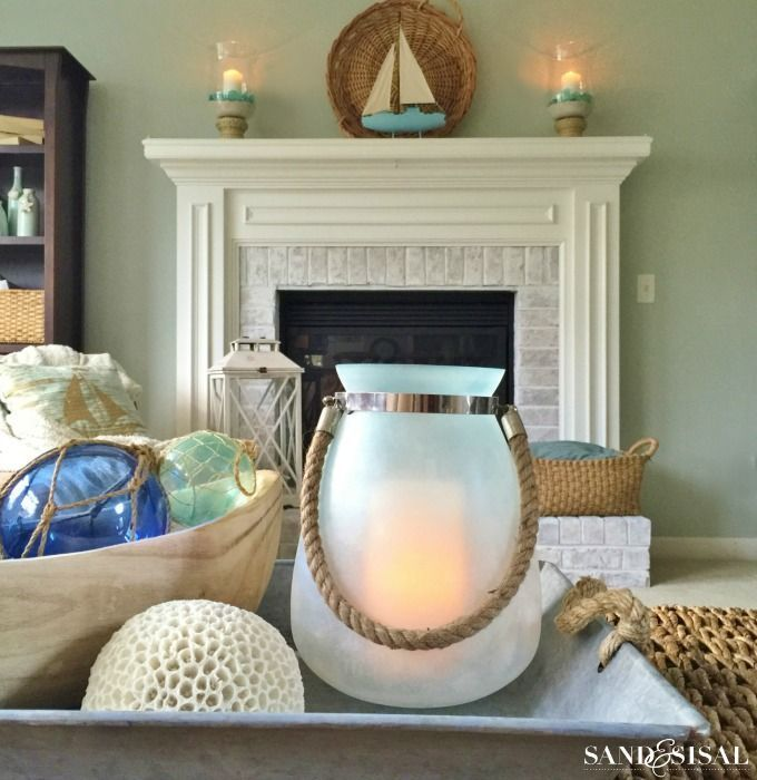 Create a Seaside Retreat (in your home) Coastal decor and House