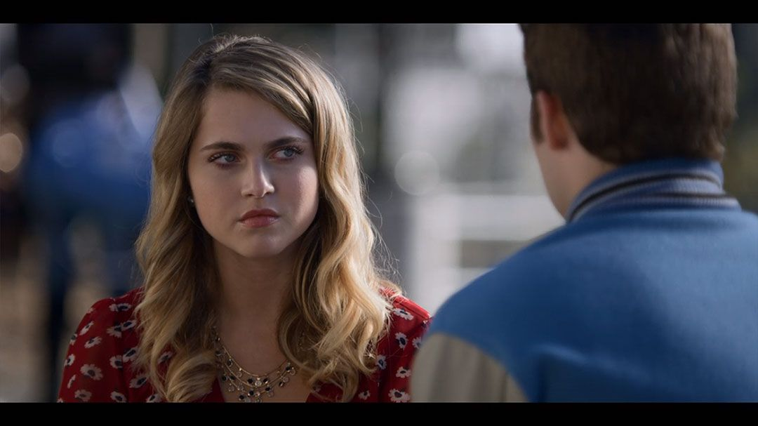 Anne Winters As Chloe Justin Prentice As Bryce Walker In Season 2