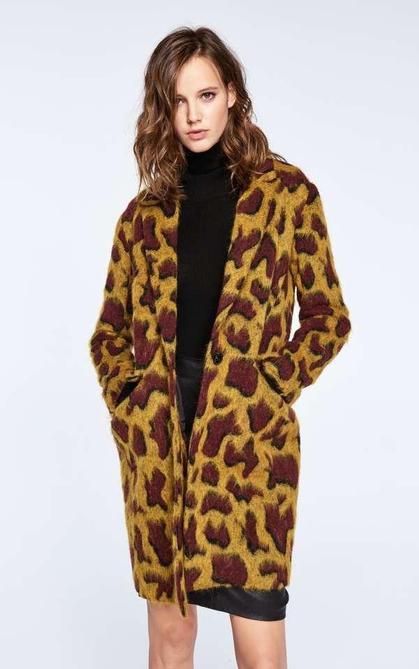 Bien-aimé MANTEAU MELBA | MODE | Pinterest | Manteau, Bash et Imprimés léopard PQ47