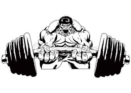 Bodybuilder Logo