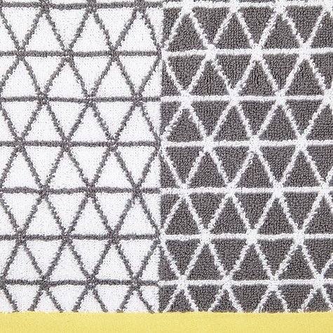 Buy House by John Lewis Isometric Towels Online at johnlewis.com